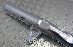 Suzuki Gt750 1972-1973, New Original Nos Exhaust Pipe, Center Left, 14304-31600