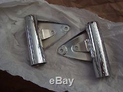 Suzuki Gt750 Gt550 Chrome Fork Ears 1974-76 Nos
