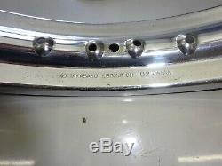 SUZUKI NOS FRONT WHEEL RIM GT550 GT750 GT500 (Disc Brake)