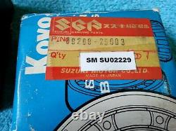 SUZUKI, OEM, NOS, T500, GT500, Crankshaft Bearings, 09269-30002, 09269-25003