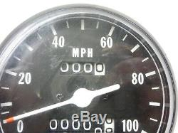Suzuki 71-76 Ts185 71-77 Tc Ts125 Speedo Speedometer 34100-28611 Nos New