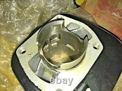 Suzuki 72-77 TC125 71-77 TS125 Cylinder Block NOS Genuine Japan P/N 11210-28002