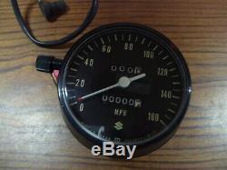 Suzuki 72 GT750 GT 750 GT750-J NOS Speedometer Speedo OEM 34100-31610-999