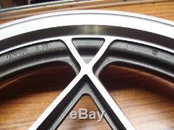 Suzuki 78-82 GS1000 GS1000E GS1100E GS750L GS550 NOS 17 Mag Rear Wheel Rim OEM