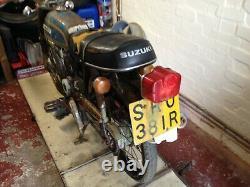Suzuki AP50 A50P 1977 Sports Moped UK Model Restoration Project V5 NOS Parts