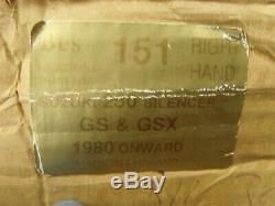 Suzuki GS250 GS/GSX 250 Exhaust Silencer R/H 1980 BRITURO NEW OLD STOCK (RARE)