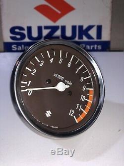 Suzuki GS400E, 425, 425E Tachometer. NOS. 34210-44002