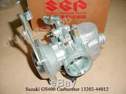 Suzuki GS400 Carburetor LH NOS GS400C GS400N GS400X CARB 13202-44012 Carburettor