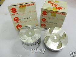 Suzuki GS400 GSX400 Piston 1.00 x2 Katana NOS 12111-44202 Pistons GS400E GSX 400