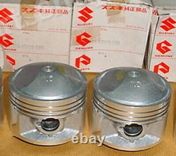 Suzuki GS425 Piston 1.00 x2 NOS 1979 GS425E GS425L Over Size 12111-45100 100