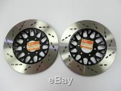 Suzuki GS700 GS750 Front Brake Disc RH/LH NOS GSX750 Police 59211 & 59221-09300