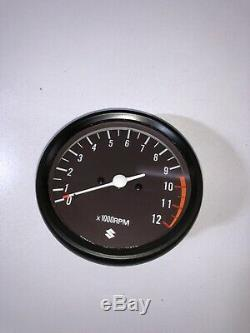 Suzuki GS750, 650, 550, 450, 425, 400 Tachometer. NOS. 34210-47021 NOS