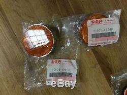 Suzuki GS850 NOS Petrol Tank Tail Piece Badges Trim Cushions New Side Panels