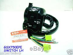 Suzuki GSX750 Switch LH NOS GSX750EPE GSX750 Police Motorcycle Model 37400-31351