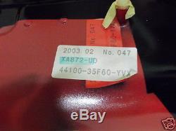 Suzuki GSX-R1000 Fuel Tank 2001-02 NOS GSXR1000 Gas Tank 44100-35F60-YVX GSXR750