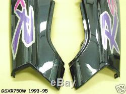 Suzuki GSX-R750 Side Cover LH + RH 1993-95 NOS GSX-R750W Frame Panel GSXR -17E80