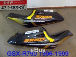 Suzuki GSX-R750 Side Cover L + R 1996-99 NOS GSXR750 Frame Panel 47210-33E20-29F