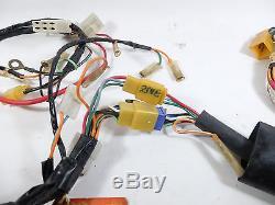 Suzuki GT125 GT-125 Wire Harness 36620-36201 + 36620-36206 NOS Genuine Japan