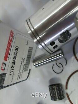Suzuki GT550 nos 2nd over piston and ring set 1972-1977 Wiseco 62.00 mm