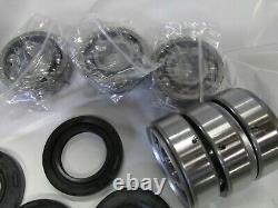 Suzuki GT550 nos crank seal and main bearing set 1972-1977 10 piece set