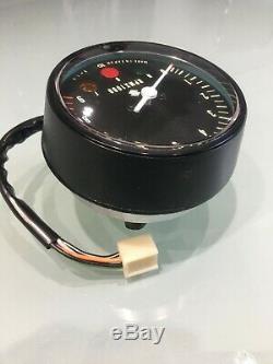Suzuki GT750J NOS tachometer rev counter part no. 34200-31011