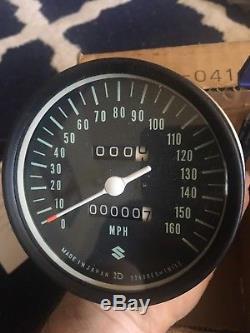Suzuki GT750 Speedometer 1973-1977 NOS New 34101-31632 / 34101-31634