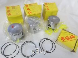 Suzuki GT750 nos standard piston and ring set 1972-1975