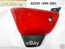 Suzuki GZ250 Side Cover L & R 1999-2001 NOS MARAUDER GZ125 PANELS 12F00-Y0W PAIR