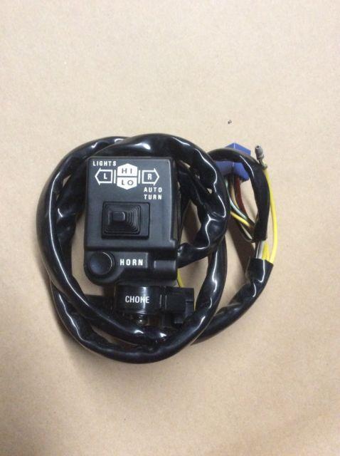 Suzuki Gs1100 Gs850 Left Hand Bar Switch Oem Nos 37400-49473