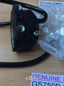 Suzuki Gs750 Gt550 76-77 A+b Nos Throttle Grip Assembly Pt 57100-34600 Perfect