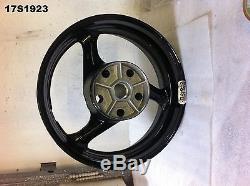 Suzuki Gsxr 750 2012 13 Rear Wheel Genuine Oem New Old Stock 17s1923