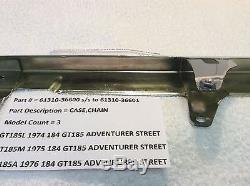 Suzuki Gt185 Lma Nos Chain Case Triple Chromed Pt No 61310-36600 Beautiful