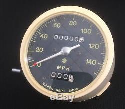Suzuki Gt250 Gt380 Gt550 NOS Speedometer Tacho