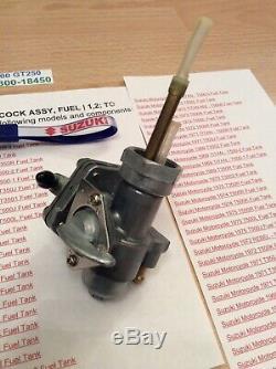 Suzuki Gt250 T250 T350 T305 Tc305 T500 Nos Fuel Petcock Pt No 44300-18450 Nice