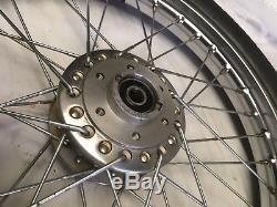 Suzuki Gt380 Front Wheel Nos