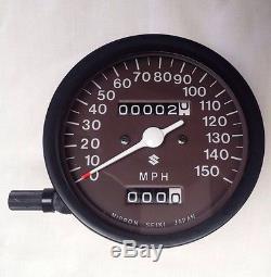 Suzuki Gt380 Gt500 Gt550 Speedometer Nos