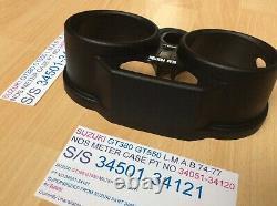Suzuki Gt380 Gt550 74-77 Lmab Nos Meter Case Pt No 34051-34120 34051-34121 New