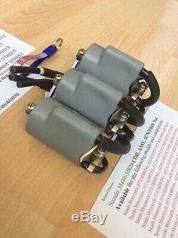 Suzuki Gt380 Gt550 Gt750 72-77 Jklmab Nos Ignition Coils Pt No 33410-33020 New