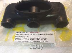 Suzuki Gt550 J/k 72-73 Nos Air Filter Hose Assembly Pt No 13880-34000 New In Bag