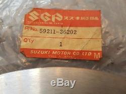 Suzuki Gt 185 1974 New Old Stock Genuine Suzuki Front Brake Disc 59211-36202