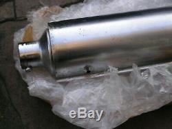 Suzuki Gt 750 J K Specific Left Hand Inner Exhaust Pipe N. O. S. Rare Item