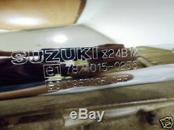 Suzuki LS650 Exhaust Muffler 1986-94 NOS SAVAGE 650 PIPE BODY 14310-24B31 LS 650