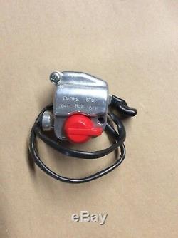 Suzuki Lt 50 Lt50 Bar Switch Throttle Case Set Oem Nos 57100-04600