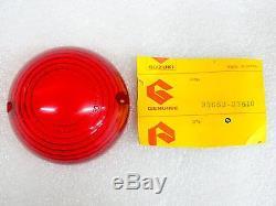 Suzuki NOS NEW 35652-37610 Red Rear Turn Signal Lens RE RE5 1975-76