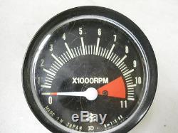 Suzuki NOS TS90 Honcho, 1972, Tachometer Assembly, # 34200-25011 S25