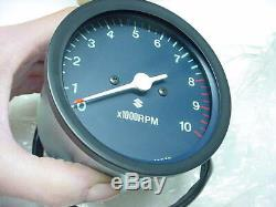 Suzuki NOS Tachometer 1974-76 GT380 GT550 L/M/A New Tach Tacho 34210-33123