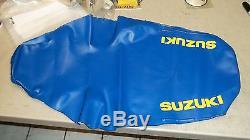 Suzuki OEM NOS seat cover 45161-27C00-4UZ RM125 RM250 1989 #5441