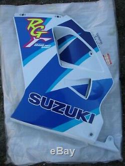Suzuki RG125Fun / RG125F / RG125 Fun NOS LHS Fairing Panel Blue & White