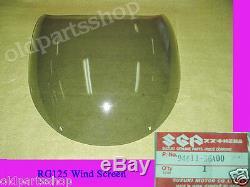 Suzuki RG125 Gamma Windscreen NOS Genuine Wind Shield Top Cowling 94611-36A00