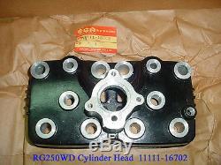 Suzuki RG250 Cylinder Head NOS GAMMA 250 Barrel Top 11111-16702 RG 250 CYL HEAD